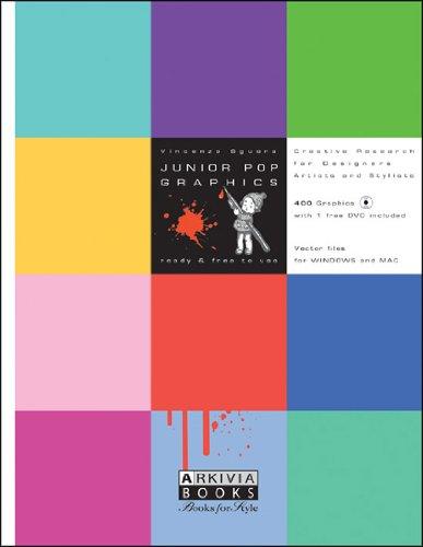 Junior Pop Graphics, Volume 1 [With DVD] 9788888766201