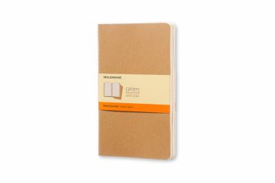 Moleskine Cahiers Set of 3 Ruled Journals