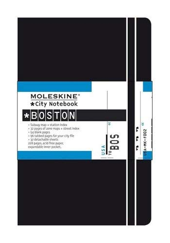 Moleskine City Notebook Boston 9788883708121