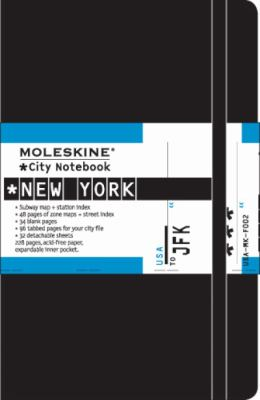 Moleskine City Notebook New York 9788883708060