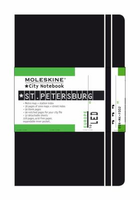 Moleskine City Notebook St. Petersburg 9788883709371
