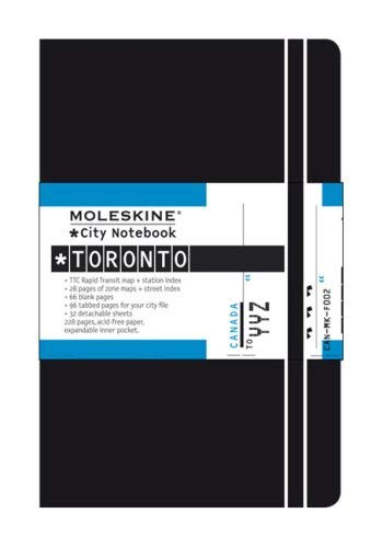 Moleskine City Notebook Toronto 9788883709432