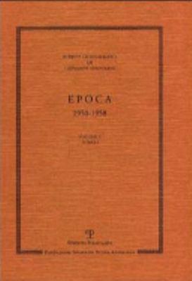 Scritti Giornalistici: Volume 3. Epoca. 1950-1958