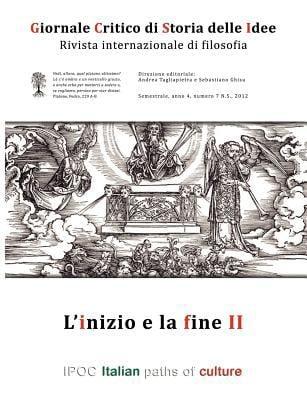 Giornale Critico Di Storia Delle Idee No.7/2012