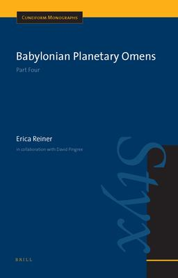 Babylonian Planetary Omens: Part Four 9789004142121