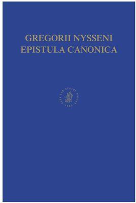 Gregorii Nysseni Epistulae 9789004111820