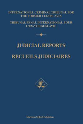 Judicial Reports / Recueils Judiciaires: 1997 (Volumes I and II) 9789004137875