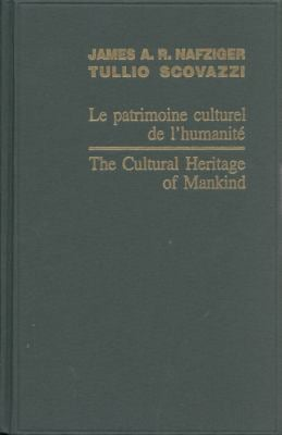 Le Patrimoine Culturel de L'Humanite/The Cultural Heritage Of Mankind 9789004161061