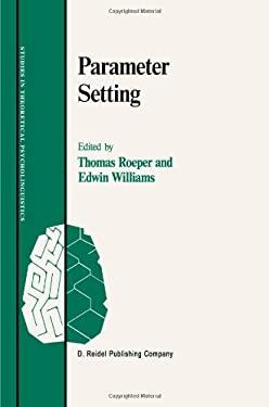 Parameter Setting - Roeper, Thomas / Williams, Edwin