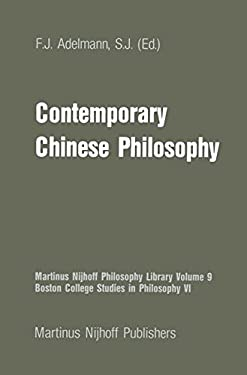 Contemporary Chinese Philosophy 9789024730575
