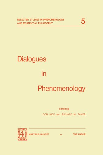 Dialogues in Phenomenology 9789024716654