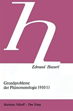 Grundprobleme Der Phaenomenologie 1910/11 9789024719747