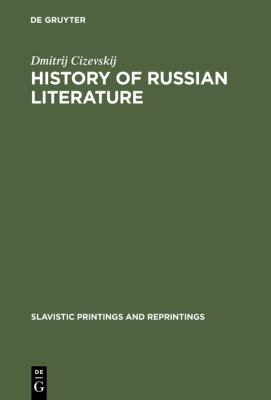 history of russian literature Get this from a library a history of russian literature [andrew kahn m n lipovet︠s︡kiĭ irina reyfman stephanie sandler] -- russia possesses one of the richest and most admired literatures of europe, reaching back to the eleventh century this volume provides a comprehensive account of russian writing from its earliest.