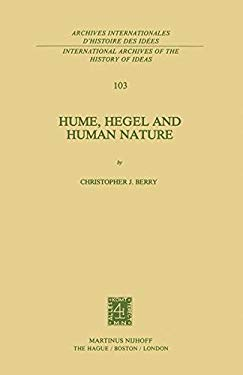Hume, Hegel and Human Nature 9789024726820