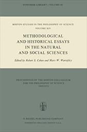 Methodological and Historical Essays in the Natural and Social Sciences 8446319