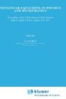 Nonlinear Equations in Physics and Mathematics: Proceedings of the NATO Advanced Study Institute Held in Istanbul, Turkey, August 1 13, 1977 9789027709363