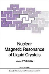 Nuclear Magnetic Resonance of Liquid Crystals 8447751