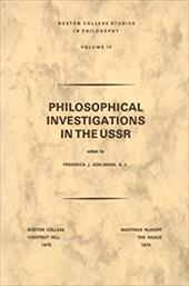 Philosophical Investigations in the U.S.S.R. 8442117