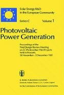Photovoltaic Power Generation 9789027713865