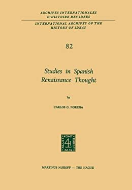 Studies in Spanish Renaissance Thought 9789024717279