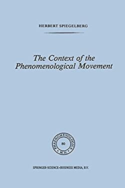 The Context of the Phenomenological Movement 9789024723928