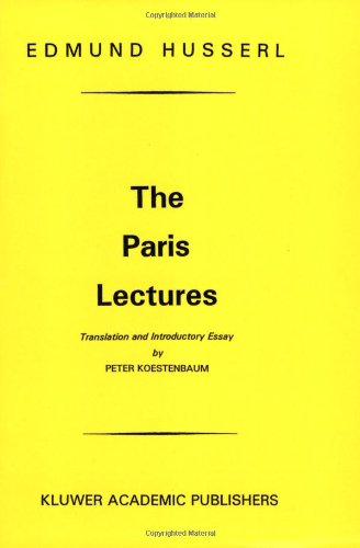 The Paris Lectures 9789024751334