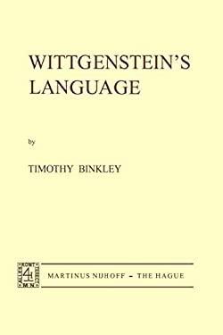 Wittgenstein's Language 9789024715411