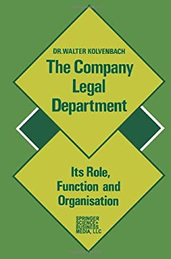 The Company Legal Department 9789031200894