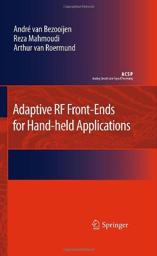 Adaptive RF Front-Ends for Hand-Held Applications 9789048199341
