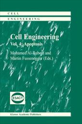 Cell Engineering: Apoptosis - Al-Rubeai, Mohamed / Fussenegger, Martin