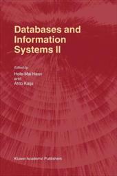 Databases and Information Systems II - Haav, Hele-Mai / Kalja, Ahto