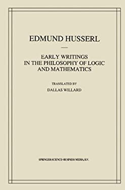 Early Writings in the Philosophy of Logic and Mathematics 9789048142668