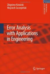Error Analysis with Applications in Engineering 8459054
