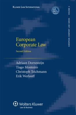 European Corporate Law Second Edition 9789041124845