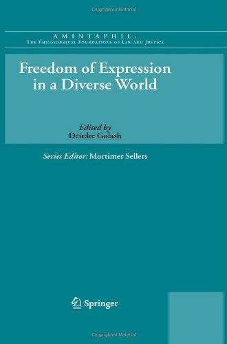 Freedom of Expression in a Diverse World 9789048189984