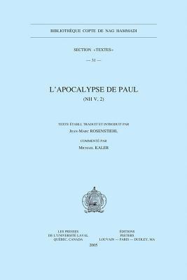 L'Apocalypse de Paul: NH V,2 9789042916005