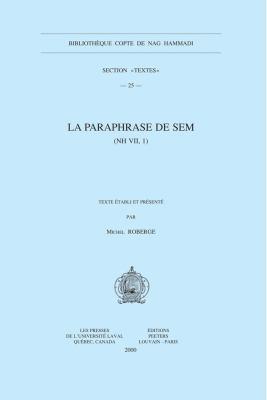 La Paraphrase de Sem (NH VII, 1) 9789042907294