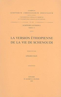 La Version Ethiopienne de la Vie de Schenoudi 9789042904866