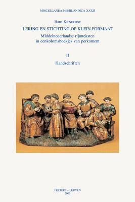 Dut-Lering En Stichting: Handschriften 9789042915916
