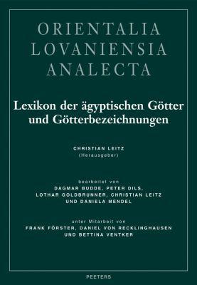Lexikon der Agyptischen Gotter Und Gotterbezeichnungen, Band II 9789042911475