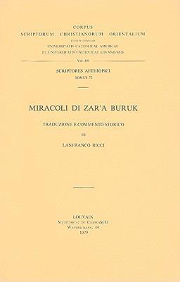 Miracoli Di Zar'a Buruk 9789042904507
