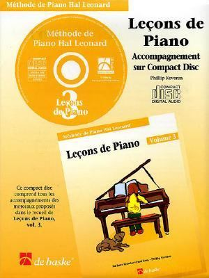Piano Lessons Book 3 - CD - French Edition: Hal Leonard Student Piano Library 9789043111553