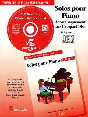 Piano Solos Book 5 - CD - French Edition: Hal Leonard Student Piano Library 9789043111621