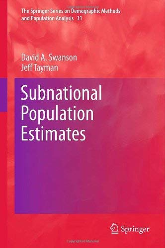 Subnational Population Estimates 9789048189533
