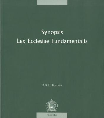 Synopsis 'Lex Ecclesiae Fundamentalis' 9789042910317