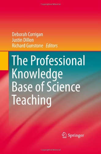 The Professional Knowledge Base of Science Teaching 9789048139262