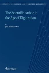 The Scientific Article in the Age of Digitization - MacKenzie Owen, John