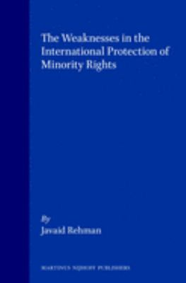 The Weaknesses in the International Protection of Minority
