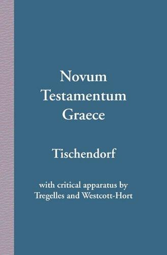 Novum Testamentum Graece 9789057191145