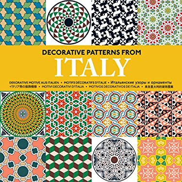 Decorative Patterns from Italy [With CDROM] 9789057681257